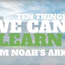 10 Things To Learn From Noah's Ark - AishLIT Website