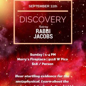JMI Discovery With Rabbi Jacobs - Aish LA Website