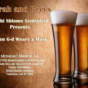 JMI Torah and Beers - Aish LA Website