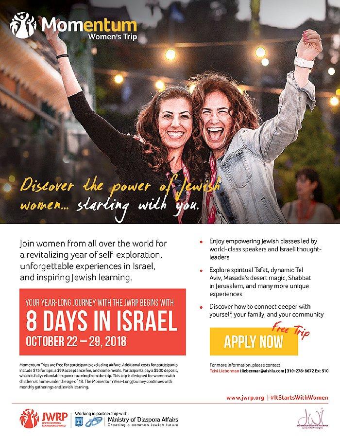 JWI 2018 Israel Trip - Aish LA Website