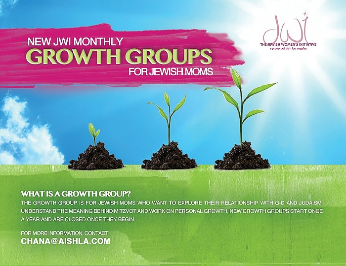 JWI Growth Group - Aish LA Website