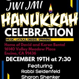 JWI Hannukah Celebration - Aish LA Website