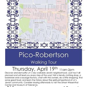 JWI Pico-Robertson Walking Tour - Aish LA Website