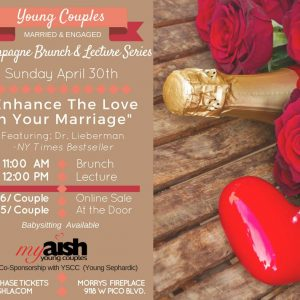 MyAish Champagne Brunch With Dr. Lieberman - Aish LA Website