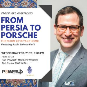 MyAish From Persia To Porsche With Rabbi Shlomo Farhi - Aish LA Website