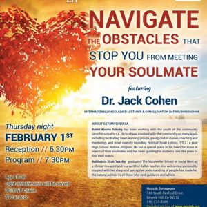 MyAish Navigate Obstacles To Meet Your Soulmate With Dr. Jack Cohen - Aish LA Website