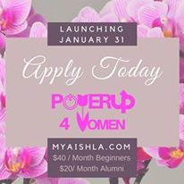 MyAish PowerUP Women - Aish LA Website