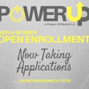 MyAish PowerUp Men and Women - Aish LA Website