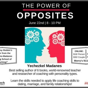 MyAish The Power Of Opposites - AishLA Website