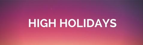 Aish LA High Holidays - weekly newsletter