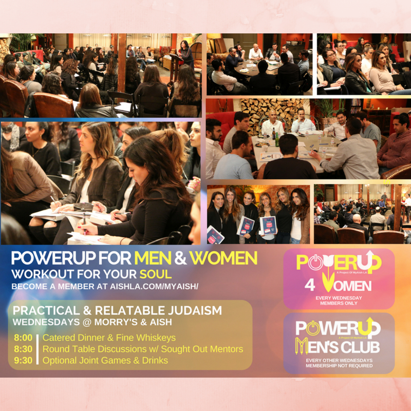 MyAish PowerUP Men & Women - Aish LA Website