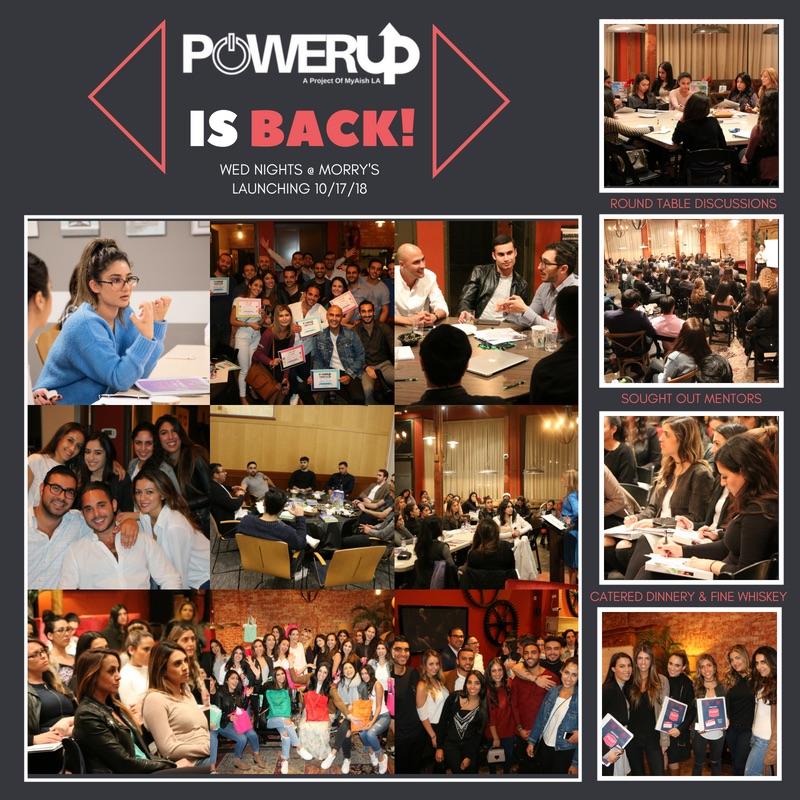 MyAish PowerUP Oct. 2018 - Aish LA Website