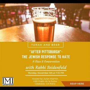 JMI Torah and Beer - Aish LA Website