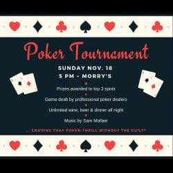 MyAish Poker Tournament 2018 - Aish LA Website
