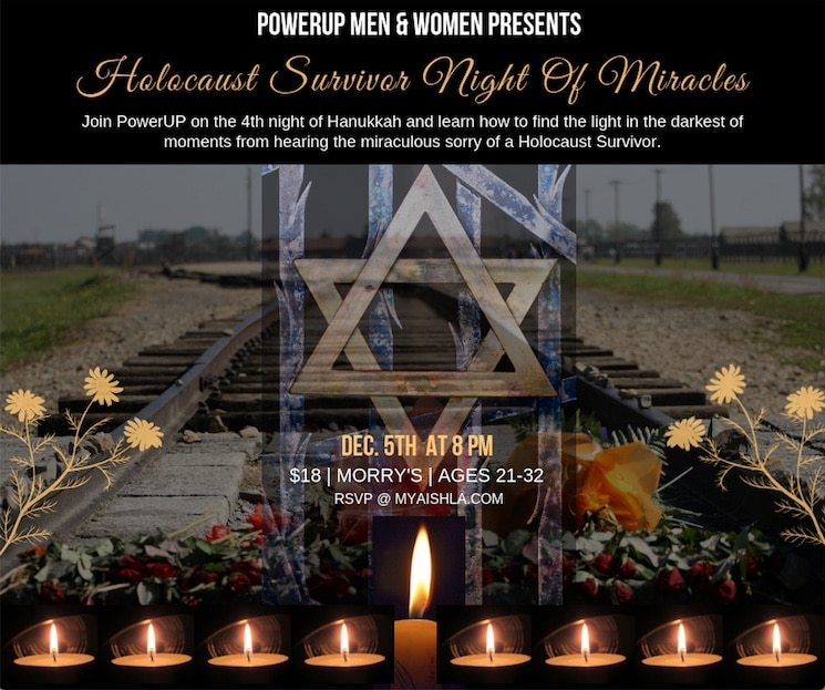 MyAish The Light of Chanukah Is The Light of Miracles - Aish LA Website