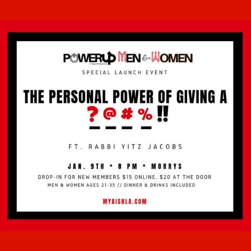 PowerUP Men and Women Launch