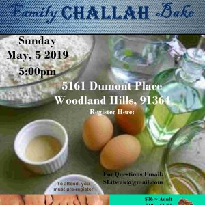 JWI Challah Bake without register - Aish LA Website