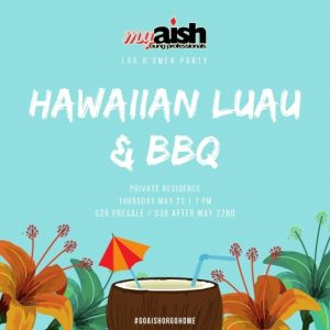 MyAish Hawaiian Luau BBQ - Aish LA Website