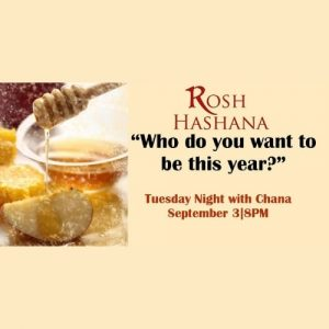 JWI Rosh Hashana with Channa - Aish LA Website