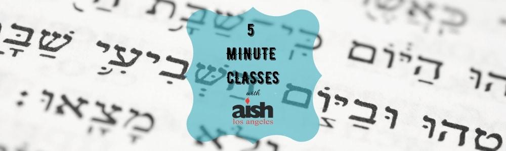 Copy of 5 minute Classes - Aish LA Website Cover