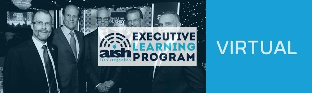 Executive Learning Virtual Platform - Aish LA Website