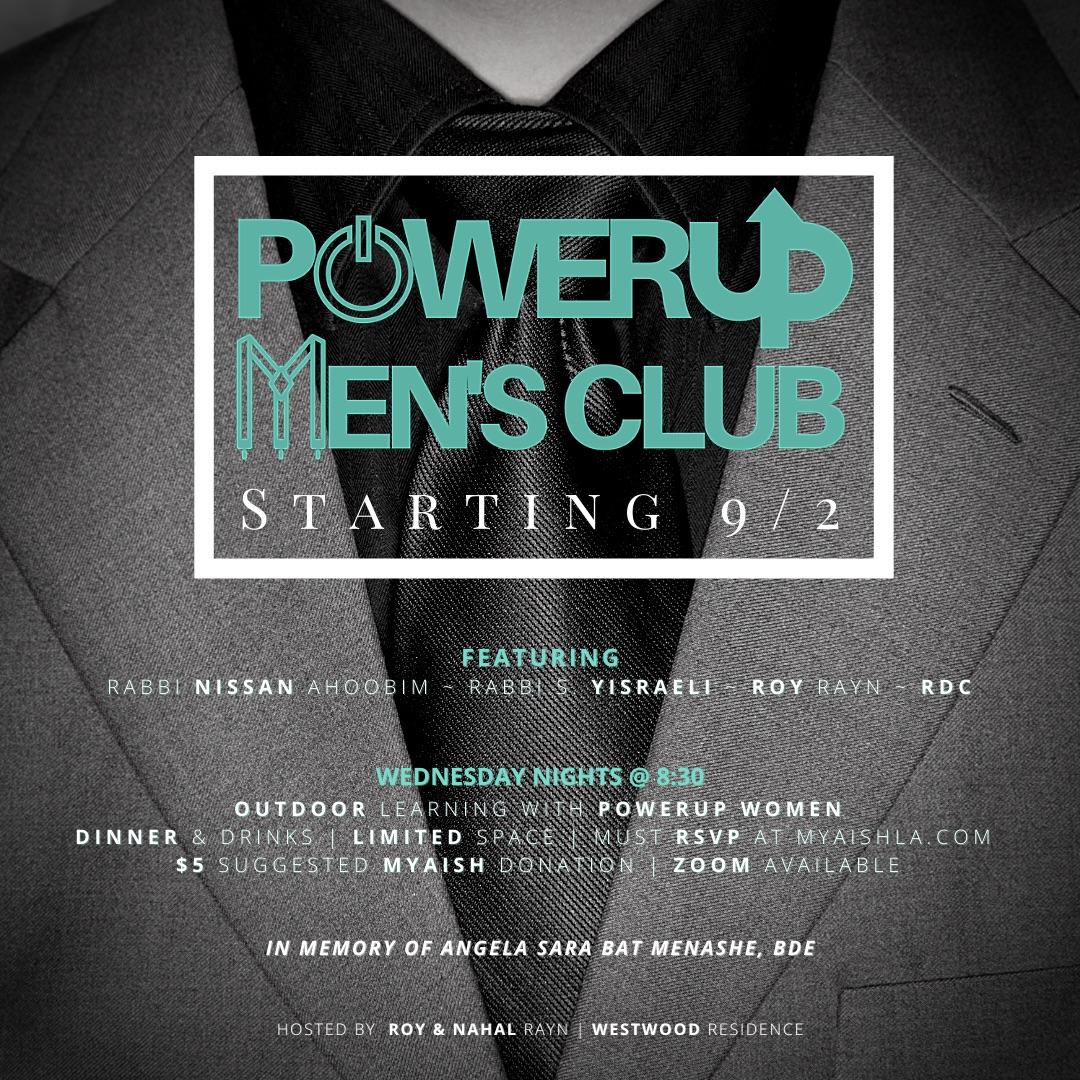 PowerUP Men's Workshop