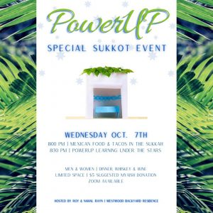 MyAish PowerUP Sukkot Event - Aish LA Website