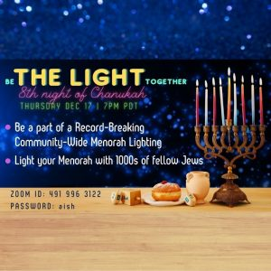 Be The Light Together with Aish LA