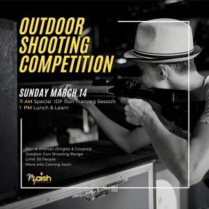 Outdoor Shooting Competition - MyAish Los Angeles