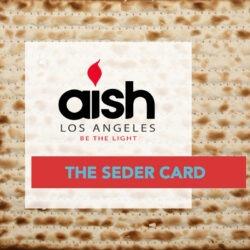 Aish Seder Card