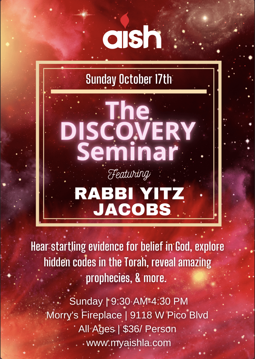 Discovery with Rabbi Jacobs - MyAish